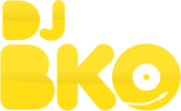 DJ BKO Logo